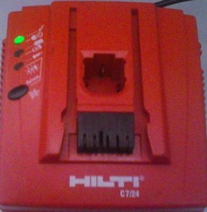 Obrázek Hilti nabíječka C 7/24 C7/24 C724 230V použitá ale v TOP STAV charger Ladegerät