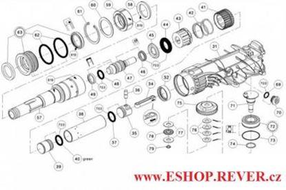 Picture of HILTI TE 500 výkres schema schnitt zeichnung spare part list