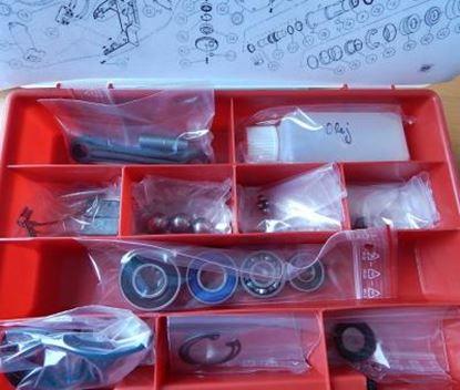 Image de Hilti TE 804 TE804 opravní sada ložiska o-kroužky uhlíky ojnička reparatursatz service kit bearings sealing carbon brushes concord pleuel lager kugellager