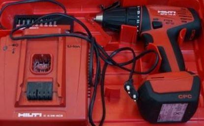 Obrázek aku šroubovák HILTI SFC 14 A 14A použitý v TOP stavu kufr GRATIS