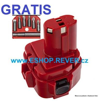 Picture of akumulátor MAKITA 6319 D DWFE 6327 D DWE nahradí original baterie AKCE