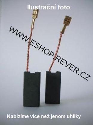 Obrázek Black Decker uhlíky KG 85 TYP B C D KG 100 KG85 KG100 TYP C D sada DW 6,3x10 s lankem