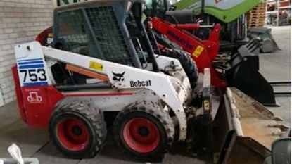 Picture of bobcat 753 rv. 2001 nafta smykový nakladač použitý 2000 mh