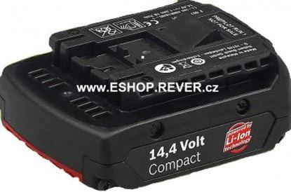 Obrázek Bosch akumulátor 14,4V 1,3 Ah Li-ion Compact AKCE