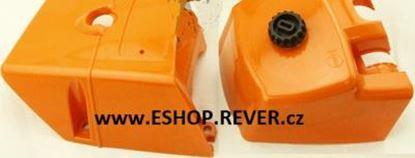 Image de 2ks kryty pro karburátor a válec Stihl 066 MS 660 MS660 GRATIS OLEJ pro 5L paliva