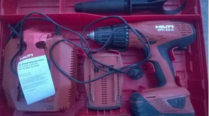 Obrázek SFH22A akumulátorový vrtací šroubovák příklep použitý kufr