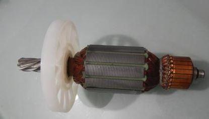 Obrázek Hitachi kotva PH 65 A PH65A rotor nahradní a uhlíky PREMIUM - anker armature armadura armatura Reparatursatz Wartungssatz service repair kit