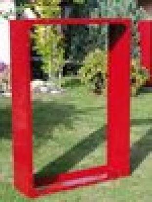Imagen de dřevník přístřešek na dřevo moderní zahrada zahradní design KK56654