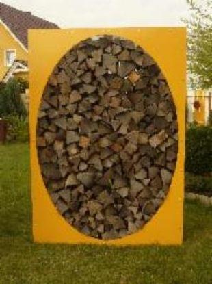 Imagen de dřevník přístřešek na dřevo moderní zahrada zahradní design PPK56774