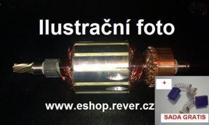 Image de ancre rotor Hitachi H 60 H60 MA MB KA remplacer l'origine / kit de service de maintenance de réparation haute qualité / balais de charbon et graisse gratuit