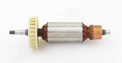 Image de ancre rotor ventilateur Hitachi G13SE G12SE 1020W remplacer l'origine 360-375E / kit de service de maintenance de réparation haute qualité / balais de charbon et graisse gratuit
