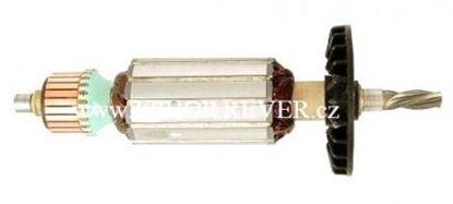 Bild von Anker Rotor Makita HP 1500 HP 1501 HP1510 ersetzt original 517108 (ekvivalent) Wartungssatz Reparatursatz Service Kit hohe Qualität Fett und Kohlebürsten GRATIS