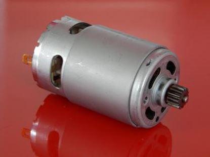 Bild von motorek 12V 14,4V do Makita 6280D 6281D BDF343 DDF343 nahradí original DC engine motor aku šroubovák