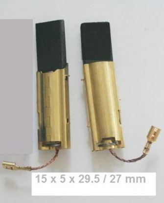 Image de Uhlíky pračka Miele W700 W800 W900 pračkové 15 x 5 x 29.5 / 27mm