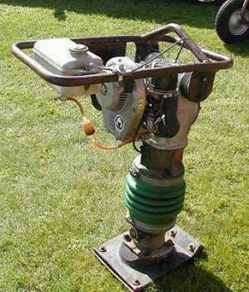 Image de Vibrační pěch Wacker BS 60Y použitý servis prohlídce WM80 motor