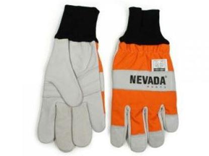 Picture of Rezuvzdorné rukavice velikost M/9 lesní rukavice řetězové pily