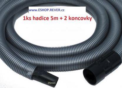 Bild von saci hadice do Bosch GAS 12-30 GAS 12-50 délka hadice je 5m a průměr 35mm včetně koncovek - ze strany vysavače je bajonet u