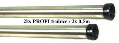 Image de Sací trubice do STARMIX vysavače nerez 2ksx0,5m nahradí original 35mm