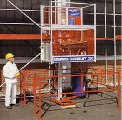 Obrázek Steinweg Superlift 200kg stavební výtah do 25 m lešení material