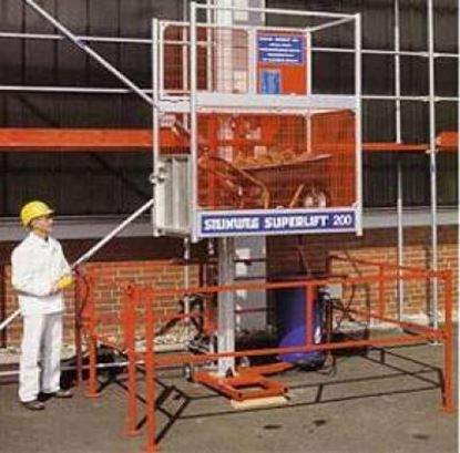 Image de Steinweg Superlift 200kg stavební výtah do 25 m lešení material