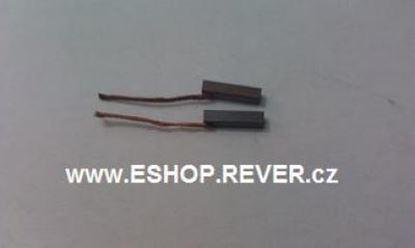 Image de Uhlíky 2,5 x 2,5 x 11 mm elektromotorů vysavač domácí spotřebiče