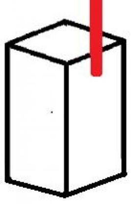 Picture of uhlíky 4,4x4,4 x9,5mm elektromotor 12V 24 aku ventilátor stěrače klima topení vrata carbon