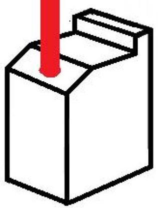 Picture of uhlíky 6,0x6,0x20,0 S elektromotor 12V 24 aku ventilátor stěrače klima topení vrata carbon