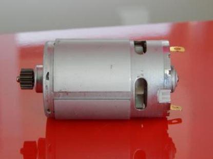 Bild von motorek 12V do Makita 8270D nahradí original 629821 629817 629875-4 DC motor aku šroubovák 6281D