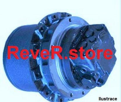 Obrázek hydraulický pohonný motor hydromotor pro Hitachi EX 36U EX36U s motorem Isuzu 3LD1