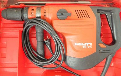 Image de HILTI TE70 TE 70 TE 70 AVR similaire TE 70 ATC-AVR TE 70 ATC 70ATC TOP Perceuse à percussion de 8 kg - HILTI est l'un des meilleurs marteaux rotatifs du marché