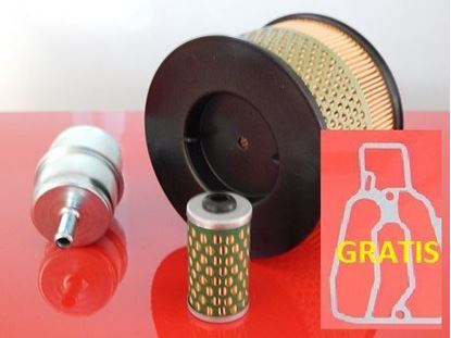 Picture of filter set for Bomag BPR 25/40 25/50 D and BPR25/40 BPR25/50 D fuel air filter gasket - OEM quality maintanance service kit replace origin part no. 05728350 05723502 SET1