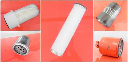 Picture of maintenance service filter kit set for Bobcat S 150 K od RV 2004 s motorem Kubota Set1 also possible individually