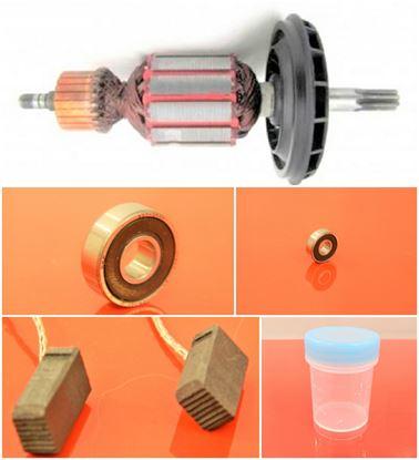 Bild von Anker Rotor PREMIUM Lüfter Bosch GBH 5-40 DE GBH5-40DE ersetzt original (ekvivalent) Wartungssatz Reparatursatz Service Kit hohe Qualität Fett und Kohlebürsten GRATIS
