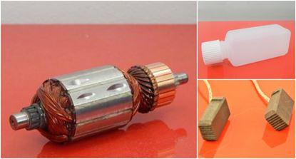 Image de ancre rotor HILTI TE60 ATC TE60-ATC TE 60 remplacer l'origine / kit de service de maintenance de réparation haute qualité / balais de charbon et huile gratuit + 2 roulement à billess