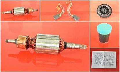 Bild von Anker Rotor HILTI DCM1 DCM 1,5 DCM1.5 DCM 1.5 DCM 1 ersetzt original (ekvivalent) Wartungssatz Reparatursatz Service Kit hohe Qualität Fett und Kohlebürsten GRATIS