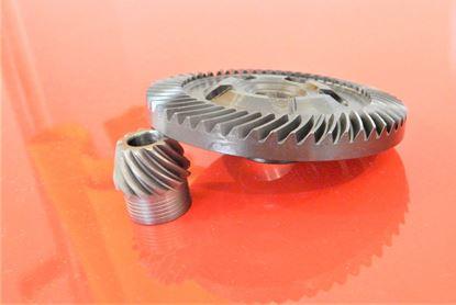Image de převod do Bosch GWS 10-125 C 14-150 C 14-150 CI 15-125 14-150C gear getriebe tellerrad kegelrad