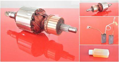 Image de ancre rotor Hilti TE 704 TE704 remplacer l'origine / kit de service de maintenance de réparation haute qualité / balais de charbon et huile gratuit