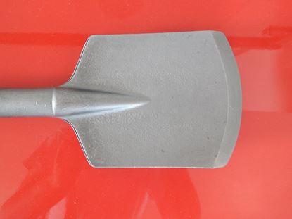 Image de široký rýčový sekáč SDS Max i pro HILTI TE70 TE 70 TE60 TE500 TE700 TE706 TE 70AVR TE70ATC-AVR TE 70 ATC 70ATC a pro další sekací zemní lopatkový práce nahradí original TE-Y-SPI clay spade chisel for earth work breiter spitzspatmeißel für Erdarbeiten