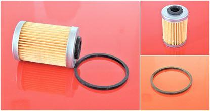 Obrázek olejový filtr pro Ammann vibrační deska DVH 6010 motor Hatz 1D80 filter filtre