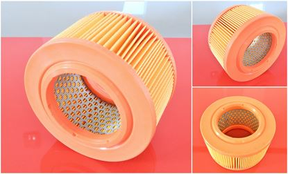 Obrázek vzduchový filtr do Hatz motor Supra 1D30 1D31 1D20 1D40 1D41 1D41S 1D50S 1D50 04030100 air filter filtre filtrato nahradí originál Hatz 04030100 04030100873 Bomag 05727220 Wacker 0104455 Dynapac 239328 filtre