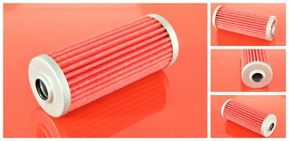 Image de palivový filtr do Komatsu PC 15MRX-1 motor Komatsu 3D68E filter filtre