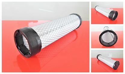 Obrázek vzduchový filtr patrona do Ahlmann nakladač AX 70 2008- motor John Deere 4024HF295 filter filtre