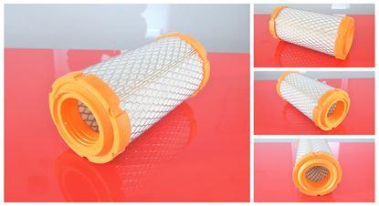 Obrázek vzduchový filtr do minibagr JCB 8015 od RV 2000 Moto Perkins 103.10 filter filtre