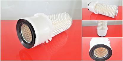 Obrázek vzduchový filtr do Kubota minibagr KH 10 od serie 51042 motor Kubota D 1101 filter filtre