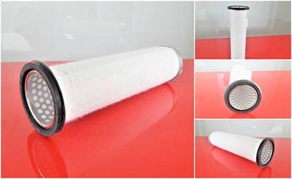 Obrázek vzduchový filtr patrona do Kubota minibagr KX 121-2 od serie 55136 motor Kubota V 2203 filter filtre