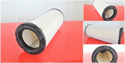 Bild von vzduchový filtr do Kubota minibagr KX 161-3R2 motor Kubota V 2203MEBH2 filter filtre