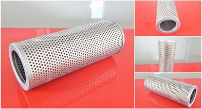 Obrázek hydraulický filtr 230 mm pro Kobelco SK 35SR-2 motor Yanmar 3TNE82A filter filtre