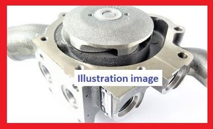 Picture of water pump for Komatsu PC130 PC160 WA150 with engine 6D95 S6D95