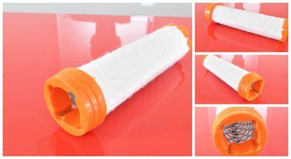 Bild von vzduchový filtr patrona pro Kubota minibagr KX 018-4 KX018-4 motor Kubota D 902-BH Sicherheitspatrone safety filter