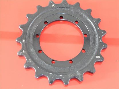 Image de pignon turas roue motrice pour Pel Job EB 14.4 with steel strack